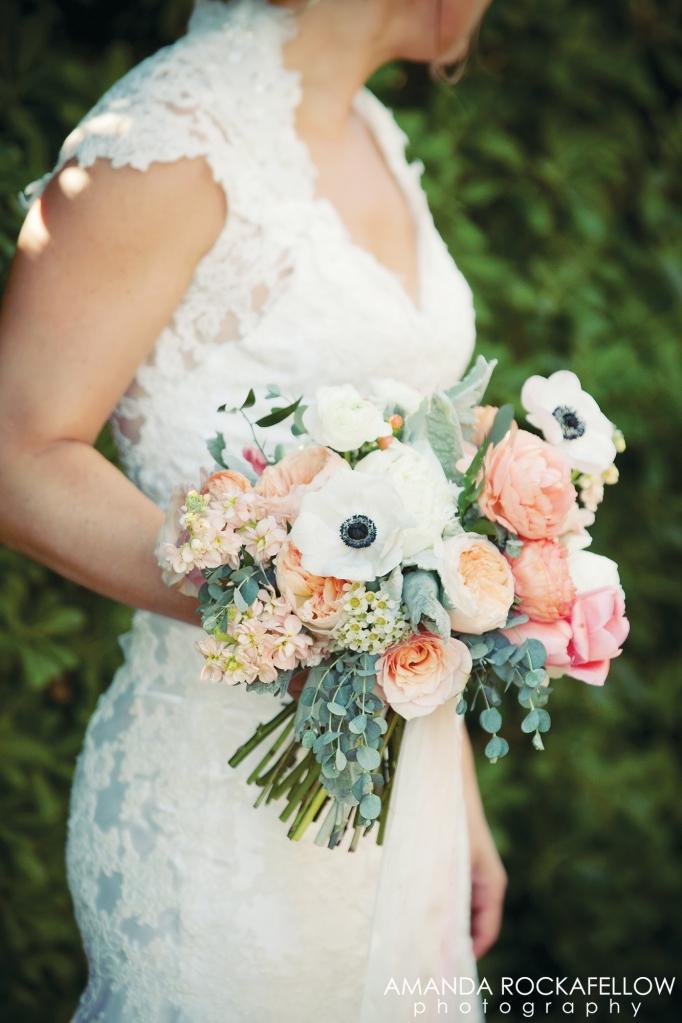 bridal bouquet spring