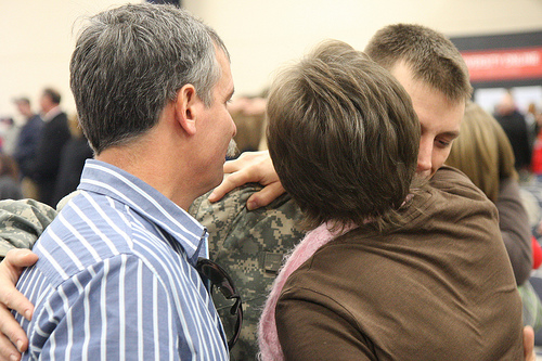 Lynchburg-based National Guard infantry battalion conducts departure ceremony