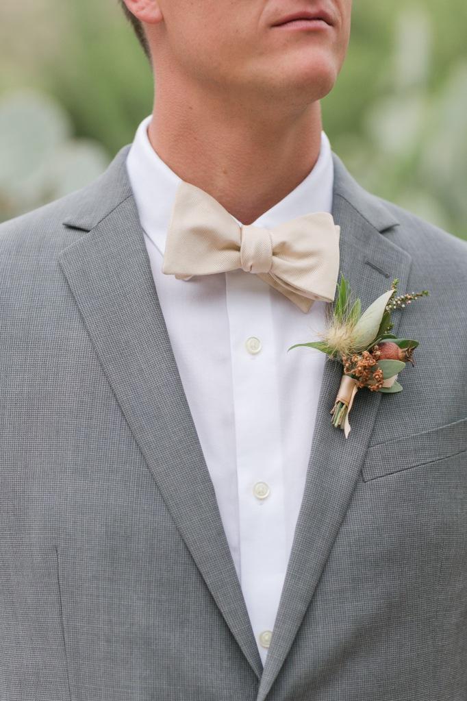 groom boutonniere desert