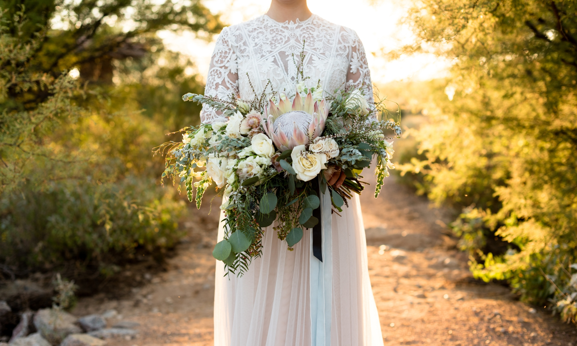 desert boho bridal bouquet