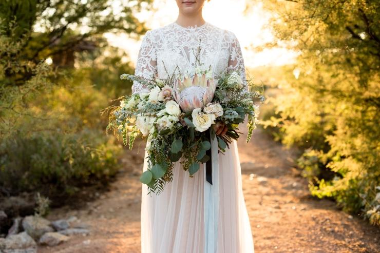 desert boho bridal bouquet